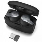 Casti Bluetooth Stereo Jabra Evolve 65t UC adaptor Link 370 Negru Titan