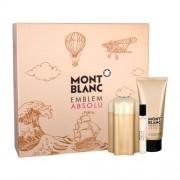 Montblanc Emblem Absolu подаръчен комплект EDT 100 ml + EDT 7,5 ml + душ гел 100 ml за мъже