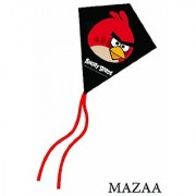 Angry Birds Red Bird Mini Poly Diamond Kite 7.5 by Brainstorm