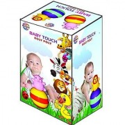 Ratna's Toyztrend Musical Baby Touch Roly Poly Rattle For Infants In Assorted Colours & Designs