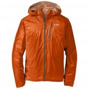 Geacă bărbați Outdoor Research Men's Helium II Jacket Dimensiuni: M / Culoarea: portocaliu/gri