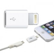 Adaptador USB micro hembra a lightning macho, 331644