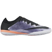 Nike Men's Mercurialx Finale IC Urban Lilac/Black/Bright Mango Indoor Soccer Shoe 10. 5 Men US