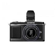 Digitalni fotoaparat E-P2 SE Pancake komplet i EVF tražilo, crni - punjač i baterija OLYMPUS