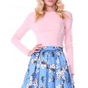 Isabel garcia Pull classique rose clair