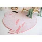 Wool Rug Lola The Flamingo. 100% wollen vloerkleed