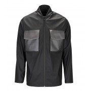 Rains Regenjassen Warrant Jacket Zwart