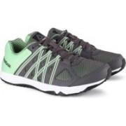 REEBOK METEORIC RUN LP Running Shoes For Women(Black, Green)