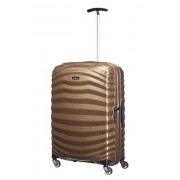 Samsonite Lite-Shock 69cm 4 Wheel Spinner Medium Suitcase - Sand