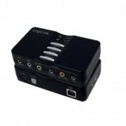 TARJETA DE SONIDO LOGILINK 7.1 USB BOX UA0099 - Inside-Pc