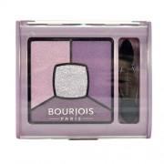 Bourjois Paris Smoky Stories Quad Eyeshadow Palette 3,2G Per Donna 01 Grey & Night (Cosmetic)