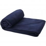 Geen Fleece deken navy blauw 150 x 120 cm