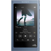 MP4 Player Sony Walkman NW-A55LL, Hi-Res Audio, Ecran tactil, Bluetooth, NFC, Autonomie 45 ore, LDAC, 16GB (Albastru)