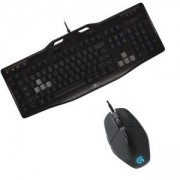 BUNDLE Геймърска клавиатура Logitech Gaming Keyboard G105 + Геймърска мишка Logitech Gaming Mouse G302