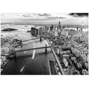 Puzzle Dino - New York, 1.000 piese alb-negru (62956)