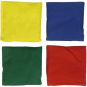 GSI Pack of 4 Toss Bean Bags for Activity Games and Primary Education