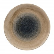 Churchill Alchemy Churchill Stonecast Aqueous Coupe Plates Bayou Taupe 260mm (Pack of 12)