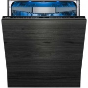 Siemens IQ-700 SN678D01TG Fully Integrated Standard Dishwasher - Black Control Panel with Fixed Door Fixing Kit - A+++ Rated