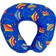 The Crazy Me Kite Pattern Travel Neck Pillow(Multicolor)