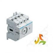 HAGER Rozłącznik izolacyjny 40A 4P, obrotowy, HAB404 HAGER
