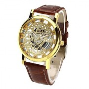 Transparent Fancy Skeletal Open Dial Champion Watch For Men PF-01