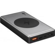 Goobay PowerBank batteri 10.000mAh med QI och QC 3.0