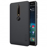 Capa Nillkin Super Frosted Shield para Nokia 6.1 - Preto