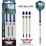 Bulls Steeldart Sets - @501 90% Tungsten - Blue 27g