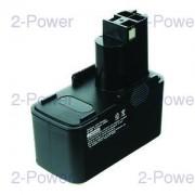2-Power Verktygsbatteri Bosch 9.6V 3000mAh (2607335152)
