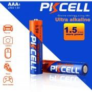 EB Batería De 1,5 V De PKCELL Baterías AAA Alcalinas De Dióxido De Cinc Y Manganeso En Seco-naranja Y Azul