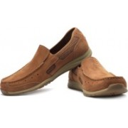 Clarks Ramada Spanish Loafers For Men(Tan)
