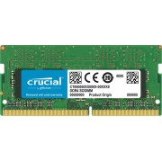Micron Crucial DDR4 SODIMM PC19200-16GB 2400Mhz Dual Rank CL17 Notebook Memory [CT16G4SFD824A]