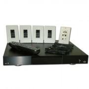 hbb Multiroom-paket för 4 zoner ljud Svart/vit