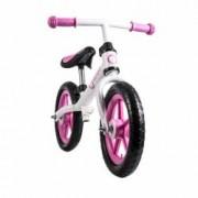 Lionelo Bicicleta fara pedale Fin Plus White Pink