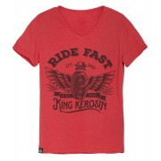 King Kerosin Ride Fast Rojo XL