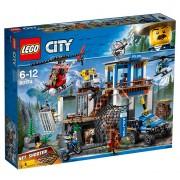 Lego City Polizia 60174 - Quartier Generale In Montagna Scatola Rovinata