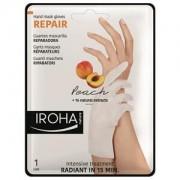 Iroha Skin care Body care Glove Mask 3 Applications Peach 1 Stk.