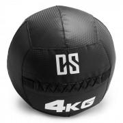 Bravor Wall Ball Bola Medicinal PVC Costuras Duplas 4 kg Preto
