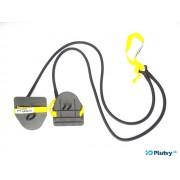 Posilňovacie plavecké gumy obtiažnosť: stredná žltá
