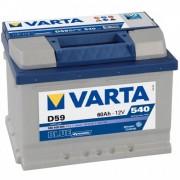 Baterie auto Varta Blue Dynamic 12V 60Ah D59, 540A cod 560409 054