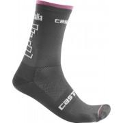 Castelli #Giro102 13 - calzini bici Giro d'Italia 2019 - Grey