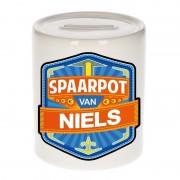 Bellatio Decorations Kinder spaarpot voor Niels - Action products