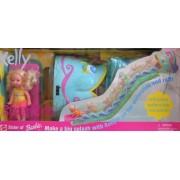 Barbie Super Slide KELLY Doll Playset w Inflatable Waterslide (1999)