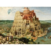 Artifact Puzzles Bruegel Tower Of Babel Wooden Jigsaw Puzzle