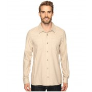 ToadCo Flannagan Solid Long Sleeve Shirt Chino Heather