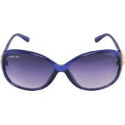 Park Line Over-sized Sunglasses(Blue)