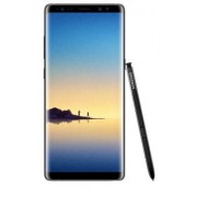 "Samsung Smartphone Samsung Galaxy Note 8 Dual Sim Sm N950f 6.3"" Dual Edge Super Amoled 64 Gb Octa Core 4g Lte Wifi 12 Mp + 12 Mp Android Refurbished Midnight Black"