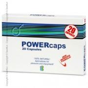 Potenciador Powercaps Homem (20 Un)