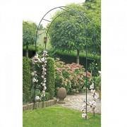 Arcada metalica pentru trandafiri si plante cataratoare 240x140x37 cm