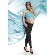 Bas Bleu Těhotenské legíny Catrine - Bas Bleu černá M